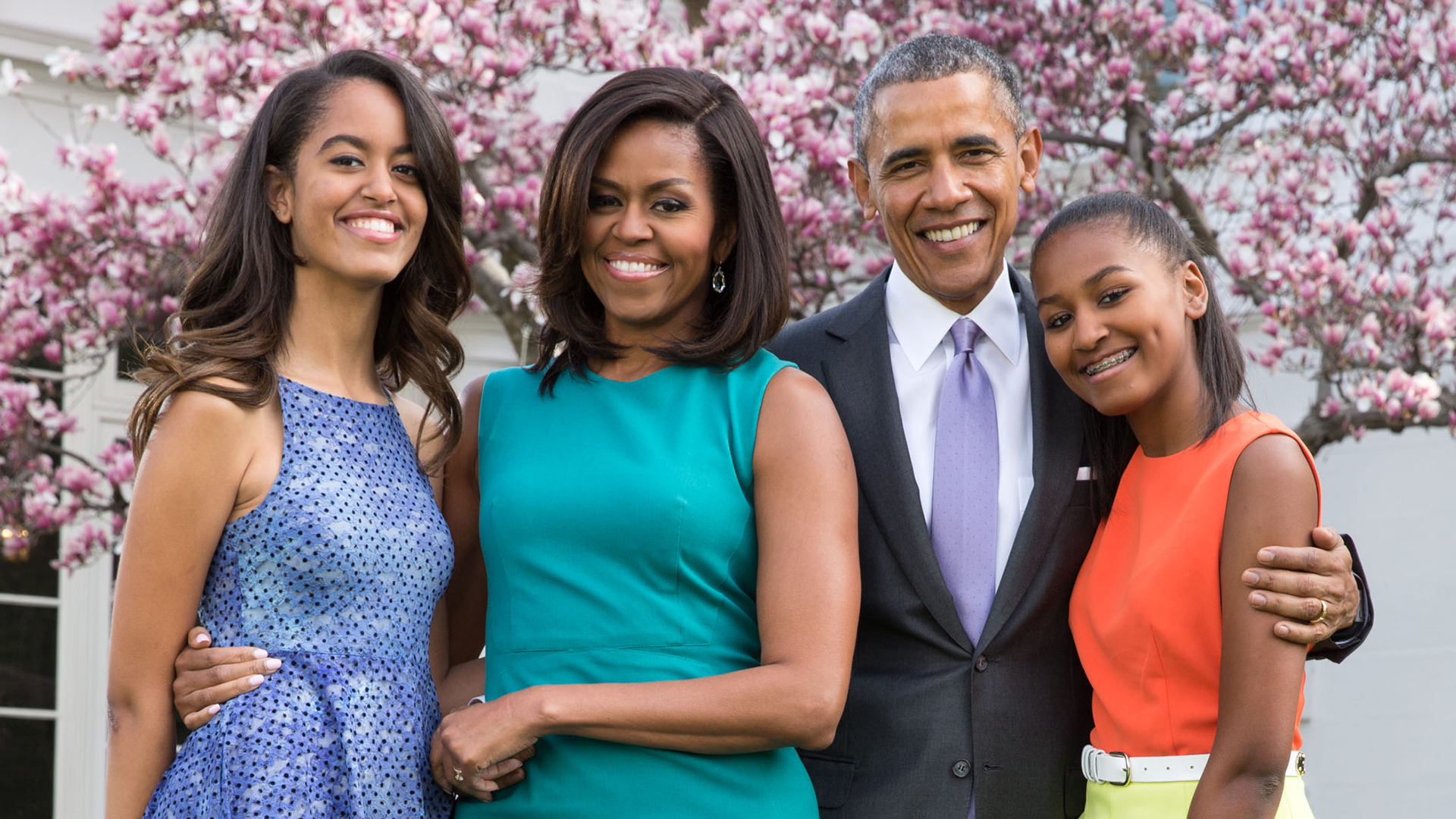 Barack Obama and Family Visit Balinese Paddy Fields During Vacation